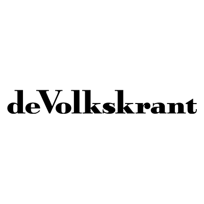 Logo of deVolkskrant, a media outlet where our tech PR agency get regularly achieves coverage.
