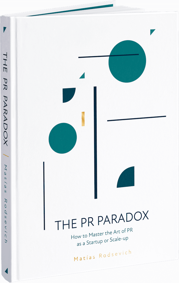 PR Book, The PR Paradox, by Matias Rodsevich, from PRLab Amstedam.