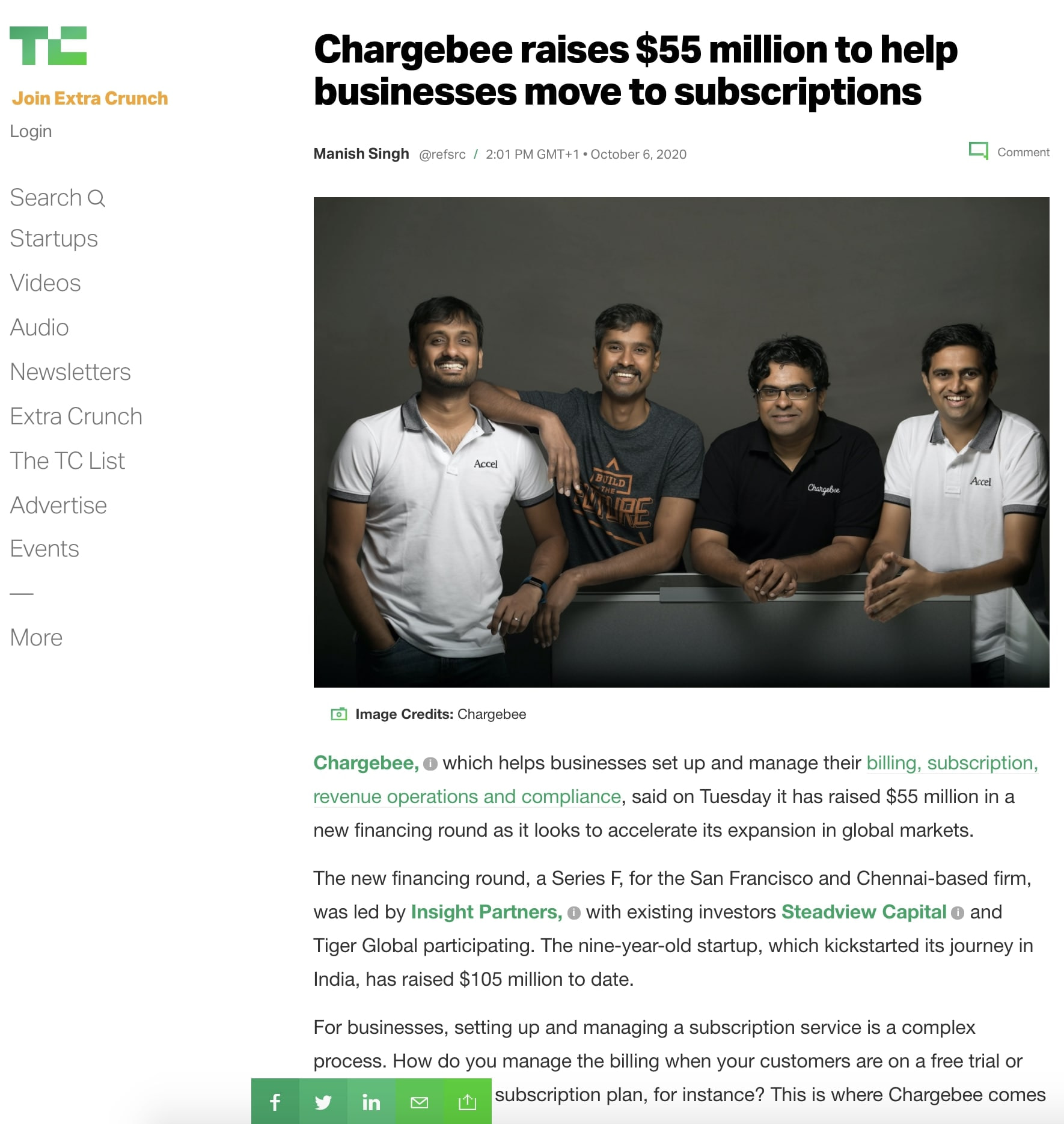 Article published at TechCrunch thanks to our PR Agency for Startups