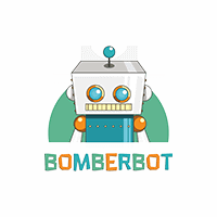 Logo of Bomberbot, customer of PRLab.