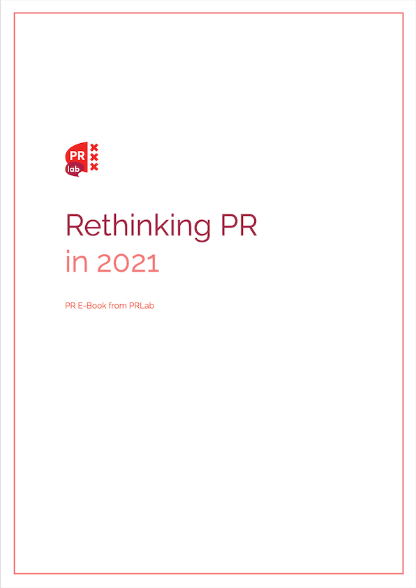 Cover for the e-book how to do PR in times of crisis.