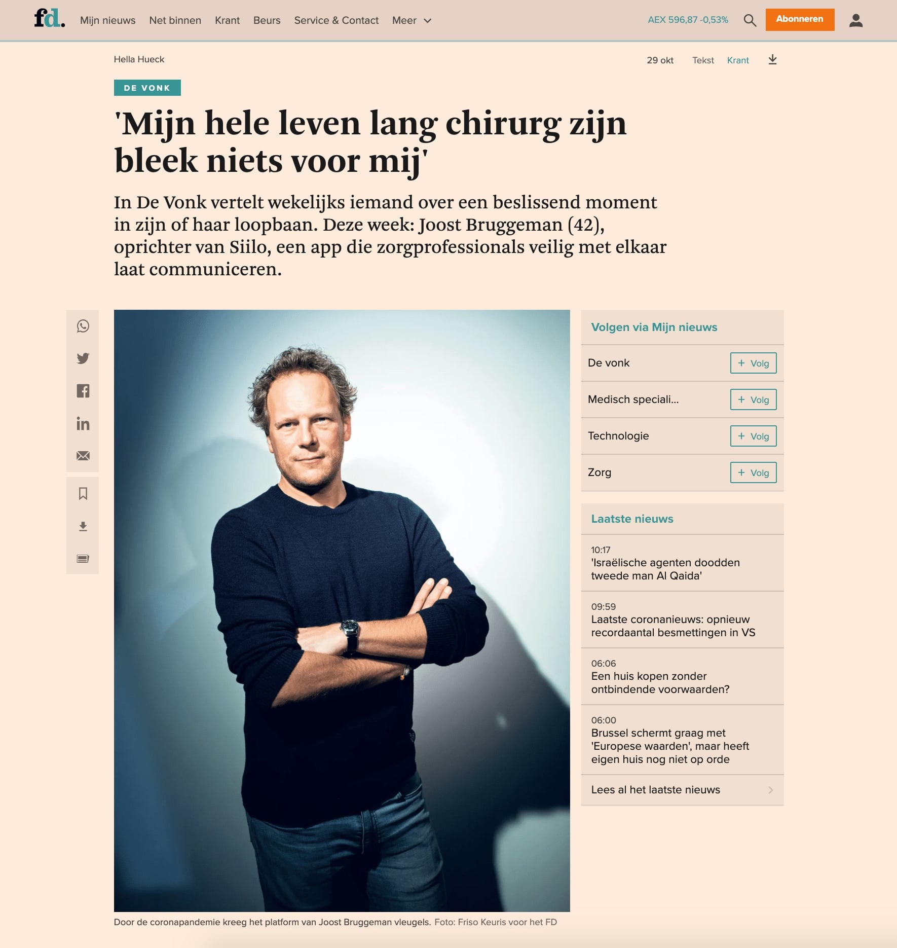 Article published at FD thanks to our PR Company for Startups in Europe