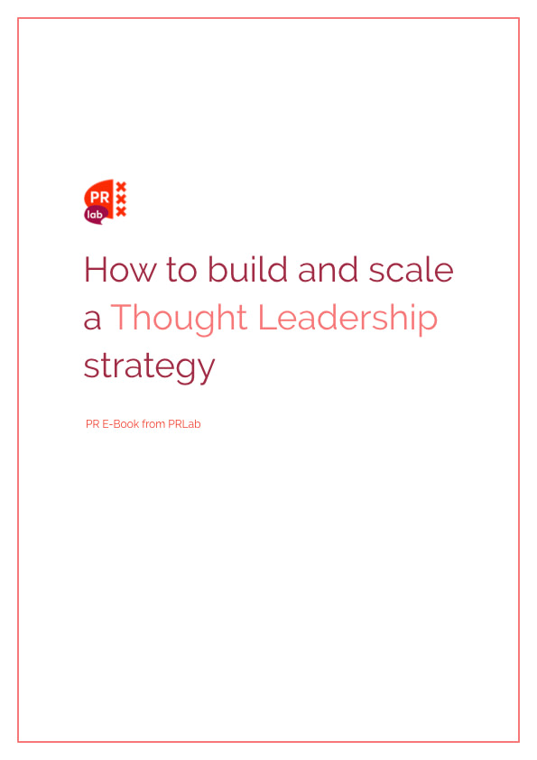 E-book how to build and scale a thought leadership strategy.